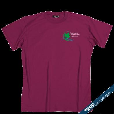 Shirt mit KGS Logo